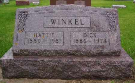 WINKEL, HATTIE - Minnehaha County, South Dakota | HATTIE WINKEL - South Dakota Gravestone Photos