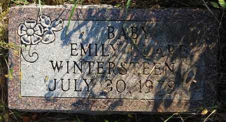 WINTERSTEEN, EMILY CLARE - Minnehaha County, South Dakota | EMILY CLARE WINTERSTEEN - South Dakota Gravestone Photos