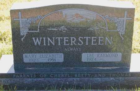 WINTERSTEEN, LEE RAYMOND - Minnehaha County, South Dakota | LEE RAYMOND WINTERSTEEN - South Dakota Gravestone Photos