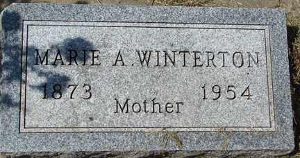 WINTERTON, MARIE A. - Minnehaha County, South Dakota | MARIE A. WINTERTON - South Dakota Gravestone Photos