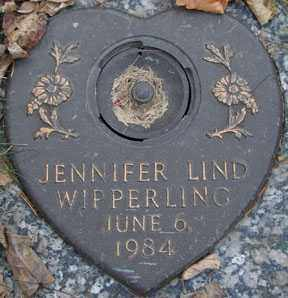 WIPPERLING, JENNIFER LIND - Minnehaha County, South Dakota | JENNIFER LIND WIPPERLING - South Dakota Gravestone Photos