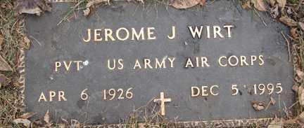 WIRT, JEROME J. - Minnehaha County, South Dakota | JEROME J. WIRT - South Dakota Gravestone Photos