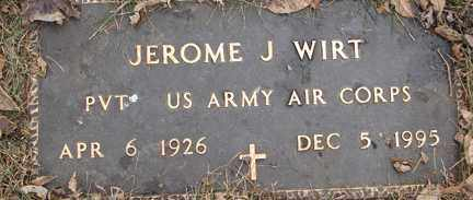 WIRT, JEROME J. - Minnehaha County, South Dakota | JEROME J. WIRT - South Dakota Gravestone Photos