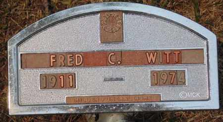 WITT, FRED C. - Minnehaha County, South Dakota   FRED C. WITT - South Dakota Gravestone Photos