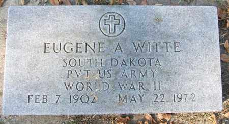 WITTE, EUGENE A. - Minnehaha County, South Dakota | EUGENE A. WITTE - South Dakota Gravestone Photos