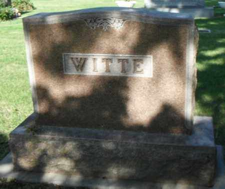 WITTE, FAMILY STONE - Minnehaha County, South Dakota | FAMILY STONE WITTE - South Dakota Gravestone Photos