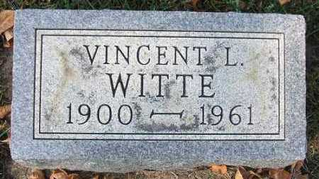 WITTE, VINCENT L. - Minnehaha County, South Dakota | VINCENT L. WITTE - South Dakota Gravestone Photos