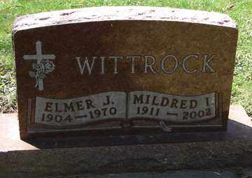 WITTROCK, MILDRED I. - Minnehaha County, South Dakota | MILDRED I. WITTROCK - South Dakota Gravestone Photos