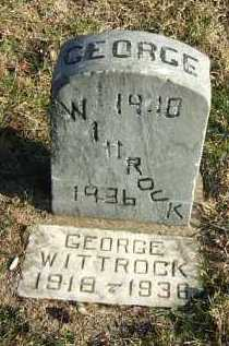 WITTROCK, GEORGE - Minnehaha County, South Dakota | GEORGE WITTROCK - South Dakota Gravestone Photos