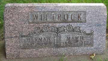 WITTROCK, MAMIE - Minnehaha County, South Dakota   MAMIE WITTROCK - South Dakota Gravestone Photos