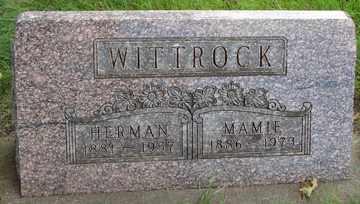 WITTROCK, MAMIE - Minnehaha County, South Dakota | MAMIE WITTROCK - South Dakota Gravestone Photos