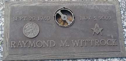 WITTROCK, RAYMOND M. - Minnehaha County, South Dakota | RAYMOND M. WITTROCK - South Dakota Gravestone Photos