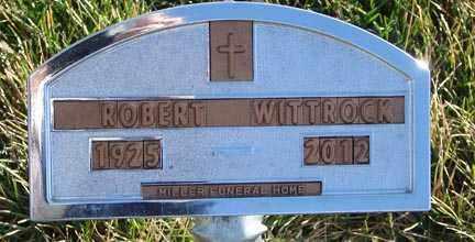 WITTROCK, ROBERT - Minnehaha County, South Dakota | ROBERT WITTROCK - South Dakota Gravestone Photos