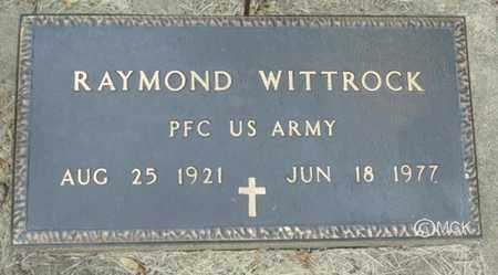 WITTROCK, RAYMOND - Minnehaha County, South Dakota | RAYMOND WITTROCK - South Dakota Gravestone Photos