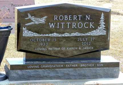 WITTROCK, ROBERT NEIL - Minnehaha County, South Dakota | ROBERT NEIL WITTROCK - South Dakota Gravestone Photos