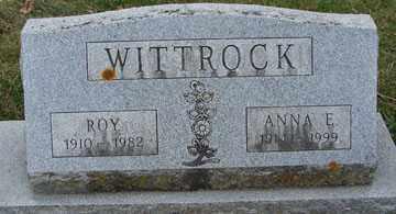 WITTROCK, ANNA E. - Minnehaha County, South Dakota | ANNA E. WITTROCK - South Dakota Gravestone Photos