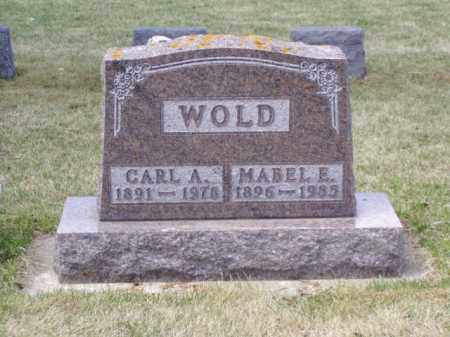 WOLD, MABEL E. - Minnehaha County, South Dakota | MABEL E. WOLD - South Dakota Gravestone Photos