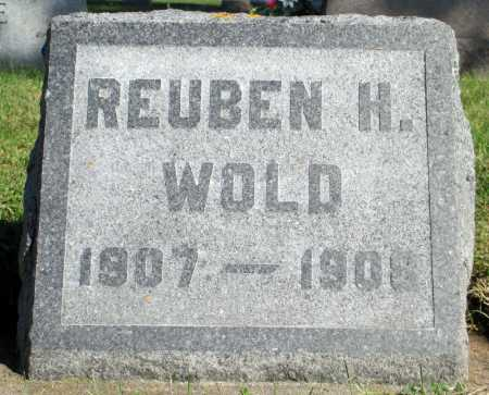 WOLD, REUBEN H. - Minnehaha County, South Dakota   REUBEN H. WOLD - South Dakota Gravestone Photos