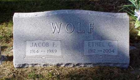 WOLF, ETHEL C. - Minnehaha County, South Dakota | ETHEL C. WOLF - South Dakota Gravestone Photos