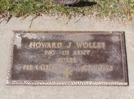 WOLLES, HOWARD J. - Minnehaha County, South Dakota | HOWARD J. WOLLES - South Dakota Gravestone Photos