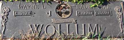 WOLLUM, LAURA MAE - Minnehaha County, South Dakota   LAURA MAE WOLLUM - South Dakota Gravestone Photos