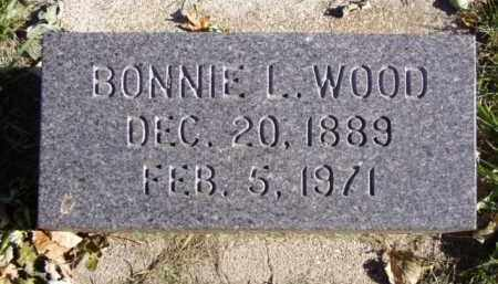WOOD, BONNIE L. - Minnehaha County, South Dakota | BONNIE L. WOOD - South Dakota Gravestone Photos