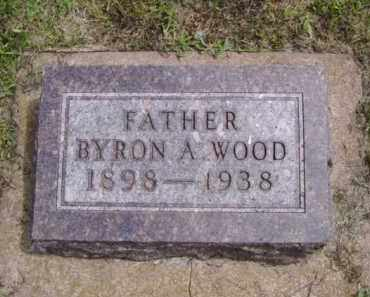WOOD, BYRON A. - Minnehaha County, South Dakota | BYRON A. WOOD - South Dakota Gravestone Photos