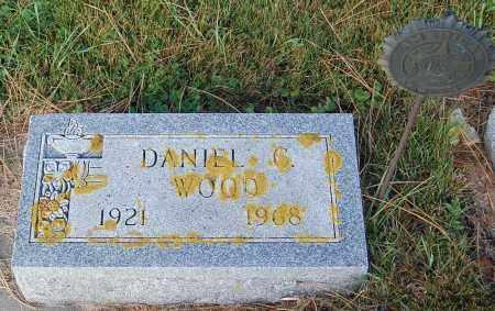 WOOD, DANIEL C. - Minnehaha County, South Dakota | DANIEL C. WOOD - South Dakota Gravestone Photos