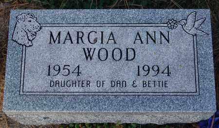 WOOD, MARCIA ANN - Minnehaha County, South Dakota | MARCIA ANN WOOD - South Dakota Gravestone Photos