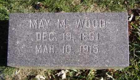 WOOD, MAY M. - Minnehaha County, South Dakota | MAY M. WOOD - South Dakota Gravestone Photos