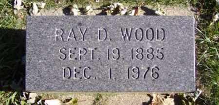 WOOD, RAY D. - Minnehaha County, South Dakota | RAY D. WOOD - South Dakota Gravestone Photos