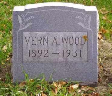 WOOD, VERN A. - Minnehaha County, South Dakota | VERN A. WOOD - South Dakota Gravestone Photos