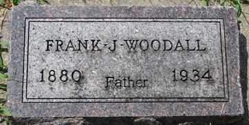 WOODALL, FRANK J. - Minnehaha County, South Dakota | FRANK J. WOODALL - South Dakota Gravestone Photos