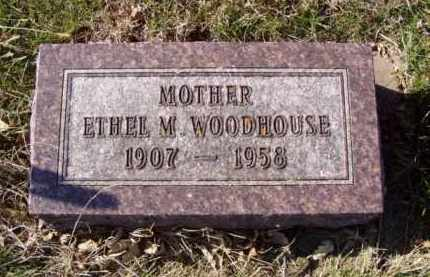 GROUT WOODHOUSE, ETHEL M. - Minnehaha County, South Dakota | ETHEL M. GROUT WOODHOUSE - South Dakota Gravestone Photos