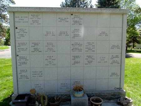 *WOODLAWN, COLUMBARIUM #3 FRONT - Minnehaha County, South Dakota | COLUMBARIUM #3 FRONT *WOODLAWN - South Dakota Gravestone Photos