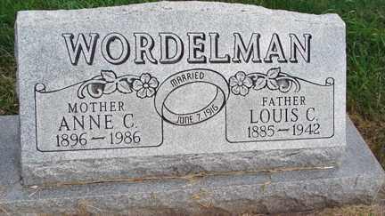 WORDELMAN, LOUIS C. - Minnehaha County, South Dakota | LOUIS C. WORDELMAN - South Dakota Gravestone Photos