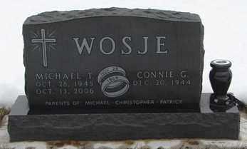 WOSJE, MICHAEL  T. - Minnehaha County, South Dakota | MICHAEL  T. WOSJE - South Dakota Gravestone Photos
