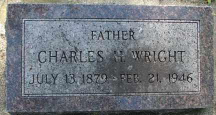 WRIGHT, CHARLES H. - Minnehaha County, South Dakota | CHARLES H. WRIGHT - South Dakota Gravestone Photos