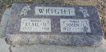 WRIGHT, JOHN L. - Minnehaha County, South Dakota | JOHN L. WRIGHT - South Dakota Gravestone Photos