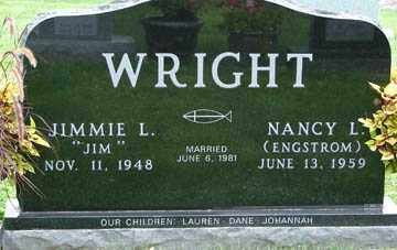 WRIGHT, NANCY L. - Minnehaha County, South Dakota | NANCY L. WRIGHT - South Dakota Gravestone Photos