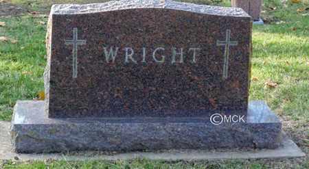 WRIGHT, HEADSTONE - Minnehaha County, South Dakota   HEADSTONE WRIGHT - South Dakota Gravestone Photos