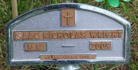 WRIGHT, ISAAC NICHOLAS - Minnehaha County, South Dakota | ISAAC NICHOLAS WRIGHT - South Dakota Gravestone Photos