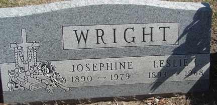 WRIGHT, JOSEPHINE - Minnehaha County, South Dakota | JOSEPHINE WRIGHT - South Dakota Gravestone Photos