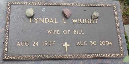 WRIGHT, LYNDAL L. - Minnehaha County, South Dakota | LYNDAL L. WRIGHT - South Dakota Gravestone Photos