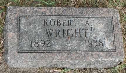 WRIGHT, ROBERT A. - Minnehaha County, South Dakota | ROBERT A. WRIGHT - South Dakota Gravestone Photos
