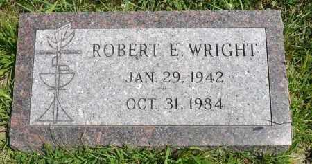 WRIGHT, ROBERT E. - Minnehaha County, South Dakota | ROBERT E. WRIGHT - South Dakota Gravestone Photos