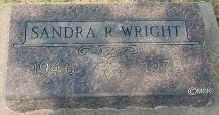 WRIGHT, SANDRA R. - Minnehaha County, South Dakota | SANDRA R. WRIGHT - South Dakota Gravestone Photos