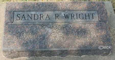 WRIGHT, SANDRA R. - Minnehaha County, South Dakota | SANDRA R. WRIGHT - South Dakota Gravestone Photos