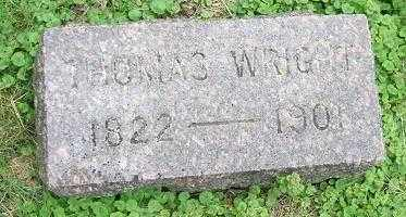 WRIGHT, THOMAS - Minnehaha County, South Dakota   THOMAS WRIGHT - South Dakota Gravestone Photos