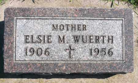 WUERTH, ELSIE M. - Minnehaha County, South Dakota | ELSIE M. WUERTH - South Dakota Gravestone Photos